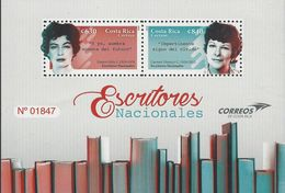 COSTA RICA NATIONAL WRITERS, EUNICE ODIO, CARMEN NARANJO MNH 2019 - Costa Rica
