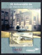 2015 Costa Rica Forensic Medicine Police Pathology Health  Miniature Sheet Of 1  MNH - Costa Rica