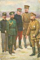 CHARPENTIER-BOSIO - VICTOR EMMANUEL III -NICOLAS II - JOFFRE - ALBERT I - FRENCH - Charpentier-Bosio, Gaston