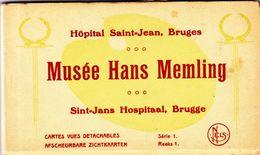 1722/ Kaartenboekje Hopital Saint-Jean Bruges, Musee Hans Memling - Brugge