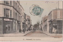 CPA : Malakoff  ( 92)   Rue Gambetta  Patisserie  Marchand De Vin    Ed Ramet  N° 13 - La Garenne Colombes