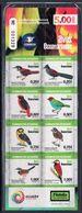 2015 Ecuador Birds Owls Oiseaux  Miniature Sheet  Of 10  MNH - Ecuador