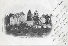 58 - Nièvre -CHATILLON En BAZOIS - Le Château - N 2 - Chatillon En Bazois