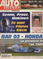 Auto Hebdo 1999 Olivier Panis Richard Burns Didier Auriol Tommi Mäkinen Carlos Sainz - Sport