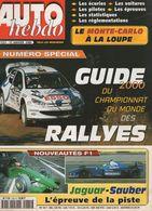 Auto Hebdo 2000 Colin McRae Richard Burns Juha Kankkunen Tommi Mäkinen Freddy Loix - Sport