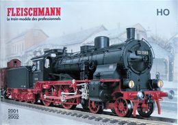 FLEISCHMANN. Catalogue De Vente TRAIN HO Année 2001 / 2002 - Livres, BD, Revues