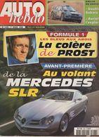 Auto Hebdo 2000 Alain Prost Grand Prix Jackie Stewart Richard Burns Dale Jarrett - Sport