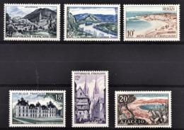 FRANCE 1954 - SERIE Y.T. N° 976 A 981 - 6 TP NEUFS** - Frankreich