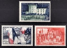 FRANCE 1954 -  Y.T. N° 995 / 996 / 997 - NEUFS** - Frankreich