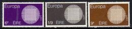 Ireland Eire 1970 QE2 Set Europa Umm SG 276 - 278 ( T635 ) - Nuovi