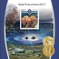 Salomon 2017, Nobel Price 2017, Einstein, BF IMPERFORATED - Albert Einstein