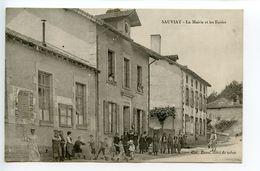 Sauviat La Mairie Et Les écoles - France