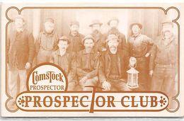 Comstock Casino - Reno, NV - BLANK Paper Prospector Club Card / Slot Card ...[RSC]... - Cartes De Casino