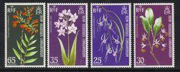 New Hebrides 1973 QE2 Set Orchids Umm SG 174 - 177 ( T953 ) - Nuevos
