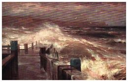 Lapina 594 - Alexis De Hanzen, La Jetée ( 3 Lignes) - Peintures & Tableaux