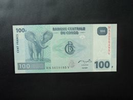 RÉPUBLIQUE DÉMOCATIQUE DU CONGO * : 100 FRANCS   31.7.2007     P 98a        SPL+ - Congo