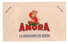 Buvard Amora La Moutarde De Dijon - Format : 20x12.5 Cm - Mostard