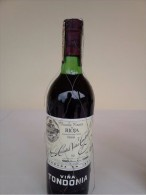 VINTAGE BOUTEILLE VIN ESPAGNOL VINO SPANISH WINE DU D.O.C. RIOJA RESERVE DES ANNE 1986 VIÑA TONDONIA PARTICULA - Wein