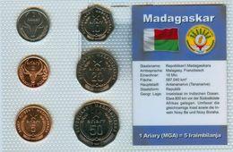 Kursmünzensatz Madagaskar  KMS Mit Zertifikat - Madagaskar