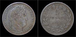 France Louis Philippe I 5 Francs 1838A - France