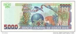 COSTA RICA P. 268Ab 5000 C 2005 UNC - Costa Rica