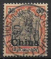 GERMANIA REICH UFFICI IN CINA 1900 SOPRASTAMPATO YVERT. 14  USATO VF - Bureau: Chine