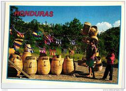 HONDURAS BASKET SELLER GIRL AND BOY VANNIER - Honduras
