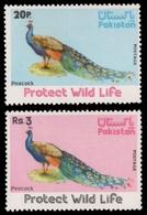 Pakistan 1975 - Mi-Nr. 390-391 ** - MNH - Vögel / Birds - Pakistán