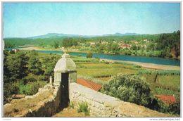Monção - Vista Do Rio Minho - Portugal ( 2 Scans ) - Viana Do Castelo