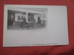 Reception Hall      Warren Hotel Massachusetts > Worcester  Ref 4189 - Worcester