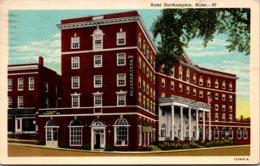 Massachsuetts Northampton Hotel Northampton 1965 Curteich - Northampton