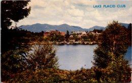 New York Lake Placid The Lake Placid Club Seen From Across Mirror Lake - Adirondack