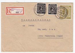 Gemeinschaftsausgaben R-Brief Mit U.a.1RM Und Postverschluss - American,British And Russian Zone