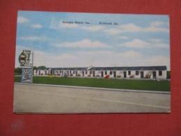Georgia  Motel Inc.. Richland  Georgia >  Ref 4189 - Etats-Unis