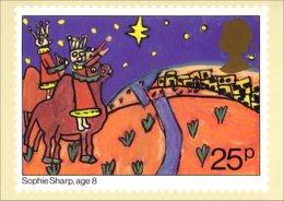 A40-380 Carte Postale Three Kinga By Sophie Sharp - Christmas