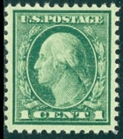 UNITED STATES OF AMERICA 1917-19 1c WASHINGTON** (MNH) - Etats-Unis