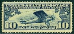 UNITED STATES OF AMERICA AIR MAILS, 1927 SPIRIT OF SAINT LOUIS** (MNH) - Luftpost