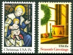 UNITED STATES OF AMERICA 1980 CHRISTMAS** (MNH) - Neufs