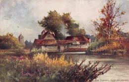R390464 The Thames. Mapledurham. Tuck. Aquarette. 6421. Up The River. 1904 - Cartes Postales