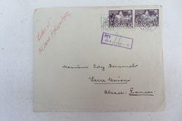 Rare Lettre Manuscrite Albert Schweitzer Alsace Musique Avec Enveloppe - Manuscritos