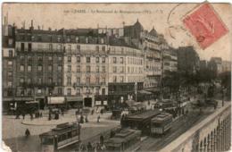 3YF 235 CPA - PARIS - LE BOULEVARD DU MONTPARNASSE - France