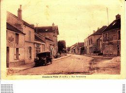 77 . Seine Et Marne .  Combs La Ville . Rue Sermonoise . - Combs La Ville