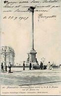 Alexandria Khartoum Column Circulée En 1907 - Alexandrie