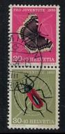Suisse // Schweiz // Switzerland // Se-Tenant // Feuillet Pro-Juventute De 1953  No.Z40 Oblitéré - Se-Tenant
