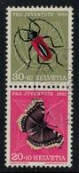 Suisse // Schweiz // Switzerland // Se-Tenant // Feuillet Pro-Juventute De 1953  No.Z41 Oblitéré - Se-Tenant