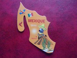 Magnet Brossard Savane Mexique Mexico Pyramide Piment Perroquet Zèbre Chili Chilli Pepper Parrot Zebra Piramid Loro - Tourismus