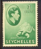 SEYCHELLES 3C UNUSED STAMP 56127 GIANT TORTOISE REPTILE - Seychelles (1976-...)