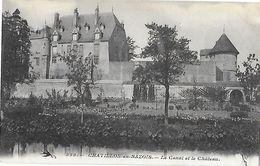 58 - Nièvre - CHATILLON En Bazois - Le Canal Et Le Château - Chatillon En Bazois