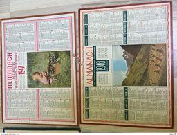 Almanach Des PTT 1947 - Calendriers