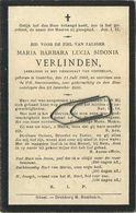 Maria Verlinden  :  Oosterloo Geel  1886  -- 1900       (  See Scans )   KIND - ENFANT - CHILD - Images Religieuses